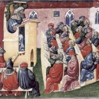 Uniwersytet-wyklad-ilustracja-z-drugiej-polowy-XIV-wieku-za-histmag.org_